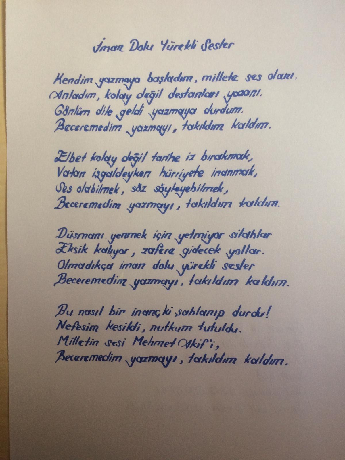 şiiiryarışma1